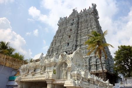 tamilnadu: Suchindram temple  Kanniyakumari, Tamilnadu, Kerala, India