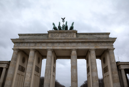 Brandenburg Gate at Pariser Platz  Berlin, Germany photo