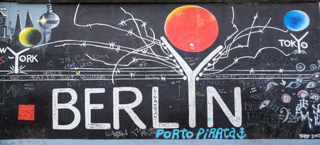 Berlin Wall in Germany