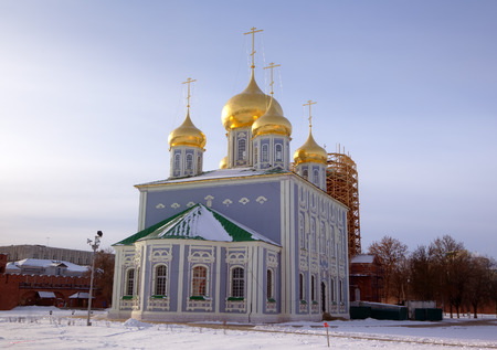 Assumption  Uspensky  Cathedral at territory of Kremlin  Tula, Russia photo