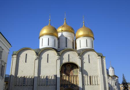 assumption: Assumption cathedral  Moscow Kremlin, Russia