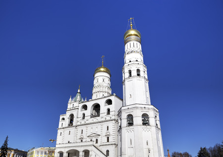 Bell tower of Ivan the Great  Moscow Kremlin, Russia photo