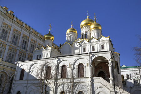 annunciation: Cathedral of the Annunciation  Moscow Kremlin, Russia