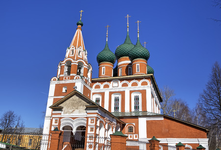 Archangel Michael church  Yaroslavl, Russia photo
