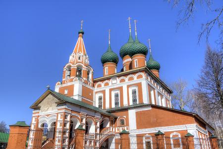 Archangel Michael church  Yaroslavl, Russia photo