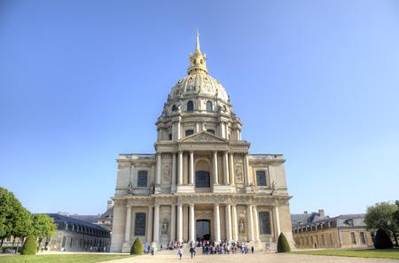 invalides: Les Invalides  Paris, France Stock Photo