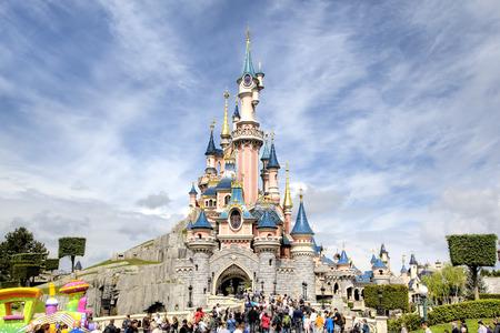 Disneyland Park in Parijs, Frankrijk