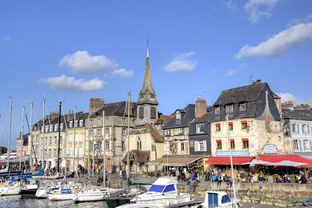 Honfleur, France Reklamní fotografie