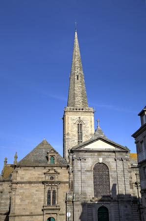 st malo: St  Vincent church  Saint-Malo  France