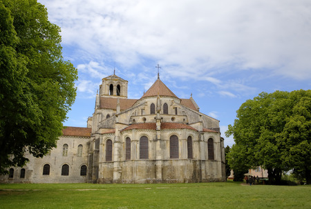 Basilique  of St  Mary Magdalene in Vezelay Abbey  Burgundy, France