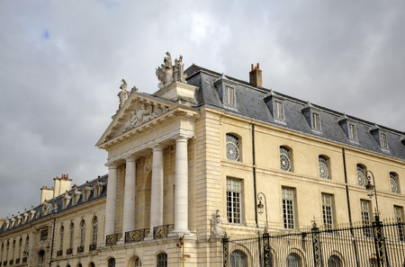 City Hall in the Palace of Dukes and Estates of Burgundy  Dijon, France