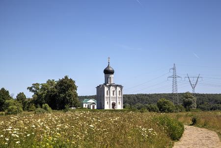 Church of the Intercession on the Nerl  Bogolyubovo, Vladimir region, Golden Ring of Russia photo