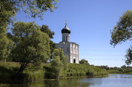 nerl: Church of the Intercession on the Nerl  Bogolyubovo, Vladimir region, Golden Ring of Russia