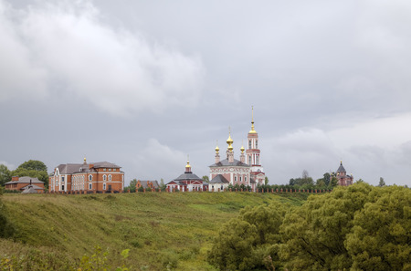 Church of Saint Archangel Michael, Church of Saint Frol and Pavel and Church of Saint Alexander Nevskiy. Suzdal, Golden Ring of Russia. photo