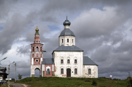 Church of Elijah Prophet at Ivanova grief in bend of Kamenka River. Suzdal, Golden Ring of Russia. photo