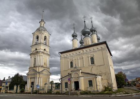 burg: Church of Smolensk Icon Mother of God (Smolenskaya). Suzdal, Golden Ring of Russia.