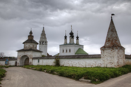 St. Alexander Nevsky Monastery. Suzdal, Golden Ring of Russia. photo