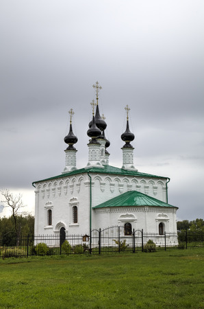 lords: Church of the Entry into Jerusalem. Suzdal, Golden Ring of Russia.