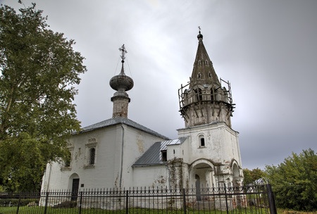 forerunner: Saint John the Baptist Church. Suzdal, Golden Ring of Russia.