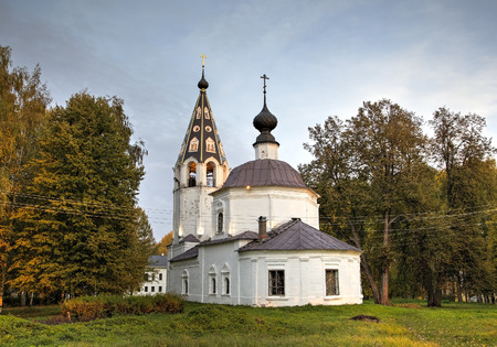 provincial tourist area: Cathedral of the Assumption. Ples, Golden Ring of Russia