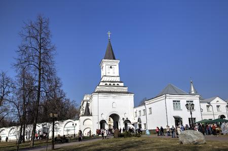 christian trust: St. Nicholas Ugreshsky (Nikolo-Ugreshsky) monastery. Dzerzhinsky, Moscow region, Russia