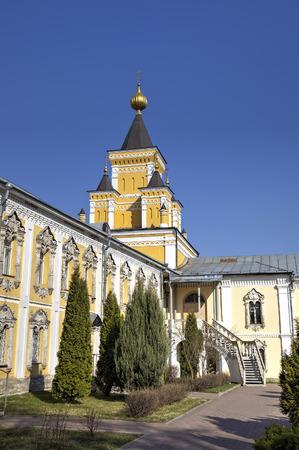st nicholas: St. Nicholas Ugreshsky (Nikolo-Ugreshsky) monastery. Dzerzhinsky, Moscow region, Russia