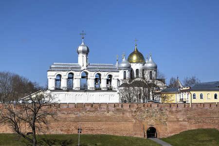 novgorod: Novgorod Kremlin. Veliky Novgorod Russia