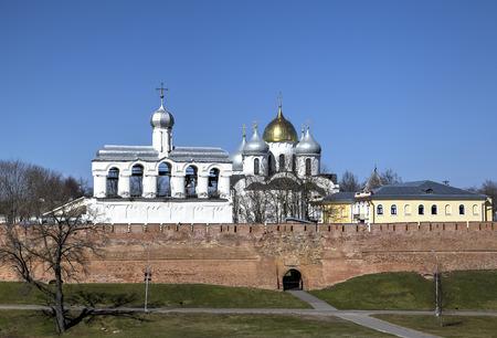 ノヴゴロドのクレムリン。ノヴゴロドのロシア