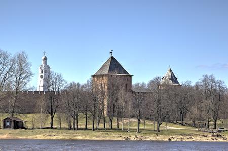 veliky: Novgorod Kremlin. Veliky Novgorod, Russia