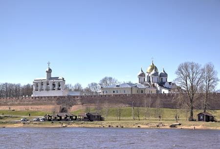 novgorod: Novgorod Kremlin. Veliky Novgorod, Russia