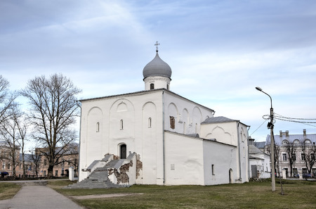 assumption: Church of Assumption of the Virgin. Veliky Novgorod, Russia