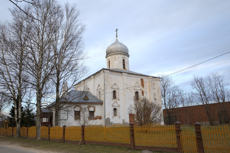 conservatives: Church of the Nativity of the Virgin. Veliky Novgorod, Russia