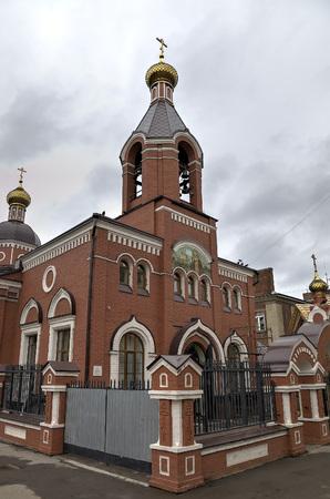 seraphim: The temple for the sake of the Reverend Seraphim of Sarov. Saratov, Russia