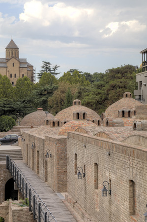 tbilisi: Sulfuric Turkish baths. Tbilisi, Georgia