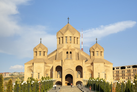 illuminator: Saint Gregory the Illuminator Cathedral. Yerevan, Armenia