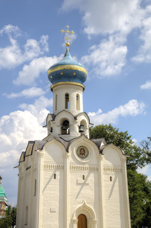 Church of the Descent of the Holy Spirit. Holy Trinity St. Sergius Lavra. Sergiev Posad, Russia. Stock Photo