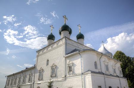 Blagoveshchensky cathedral. Nikitsky Monastery. Pereslavl, Russia Stock Photo