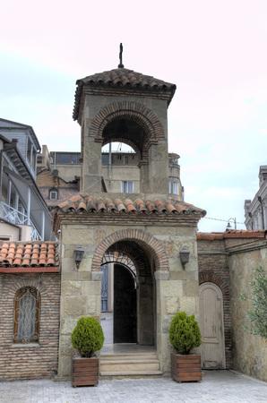 古代の教会。トビリシ、グルジア