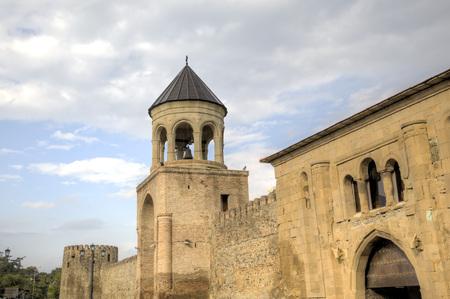 Svetitskhoveli 大聖堂。ムツヘタ。グルジア。