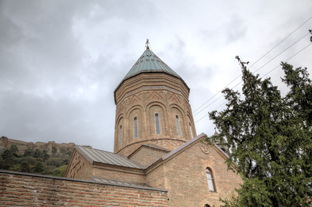 Cathedral of Saint George - 13th century Armenian church. Tbilisi, Georgia. Stock Photo