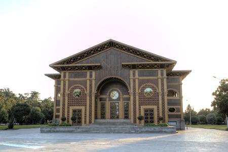 夏の劇場。バトゥミ。グルジア。