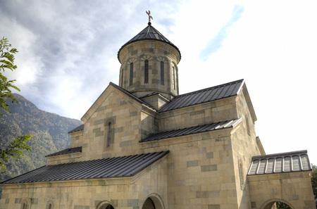 Hulot 村の大聖堂。アジャリア。グルジア。