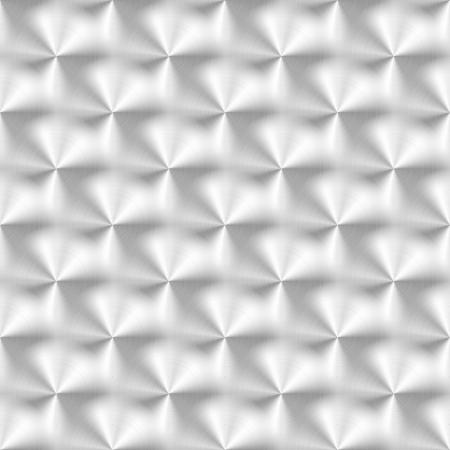 円形パターンを持つブラシをかけられた金属の質感のベクトル イラスト。  イラスト・ベクター素材