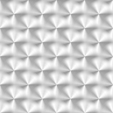 Vector illustratie van geborsteld metalen textuur met cirkelvormig patroon.