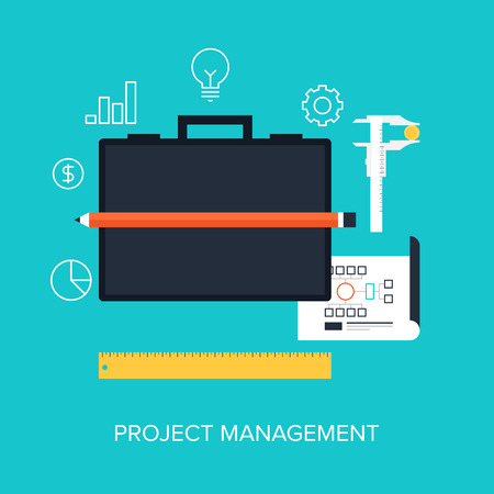 Vector collection of flat and colorful business and finance concepts. Design elements for web and mobile applications. Vector
