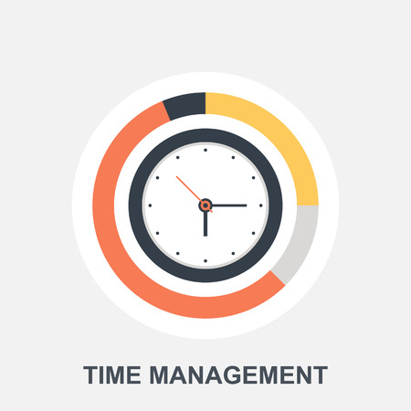 Time Management Stock Vector - 35362780