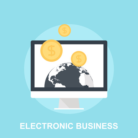 online icon: Electronic Business