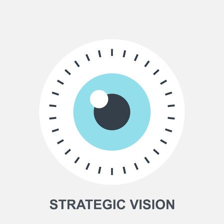 an eye: Strategic Vision