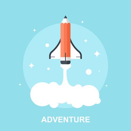 rocket launch: Adventure