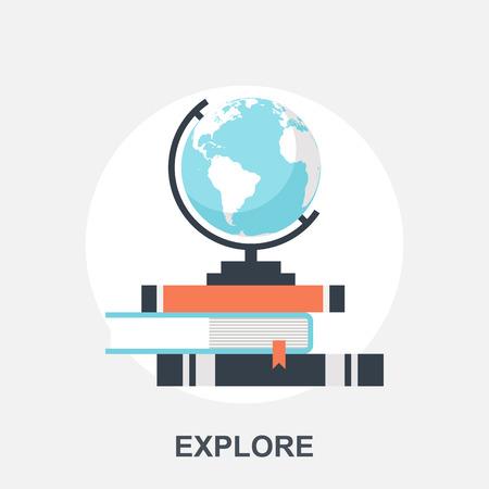 travel location: Explore Illustration
